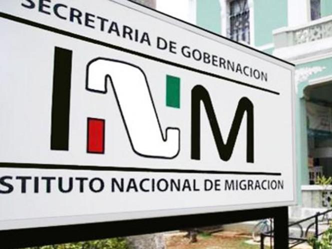 Los centroamericanos fueron asegurados por el Instituto Nacional de Migración