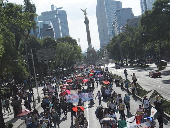 Habrá una concentración de personas en Plaza de la Constitución sin número, colonia Centro Histórico, en la delegación Cuauhtémoc. Foto: Archivo Cuartoscuro