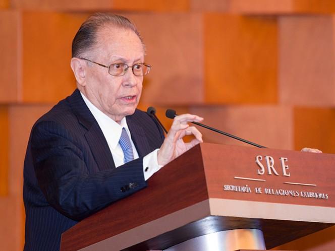Fernando Solana Morales, excanciller y exsecretario de Educación Pública