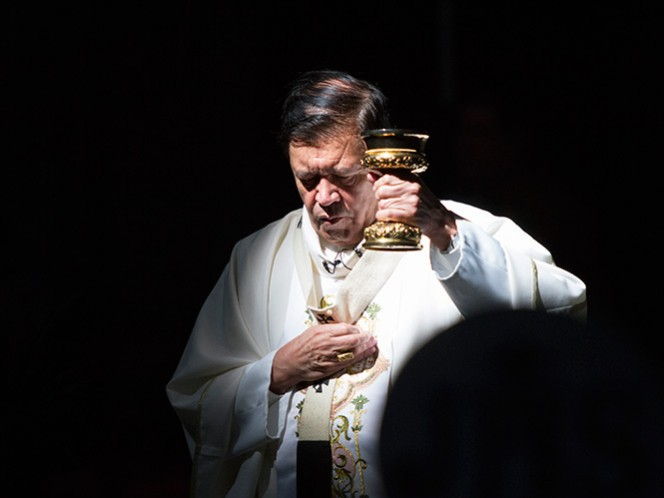Cardenal Norberto Rivera Carrera, arzobispo primado de México