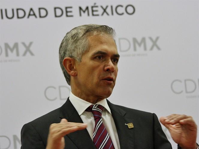 El jefe de Gobierno, Miguel Ángel Mancera, dijo que se trata de una acción preventiva para evitar afectaciones a la salud.