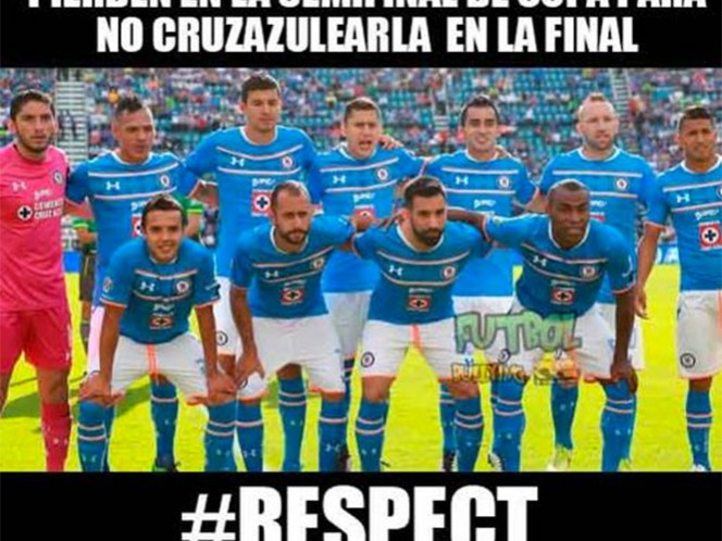 Los memes del fracaso de Cruz Azul (Foto tomada de Twitter)