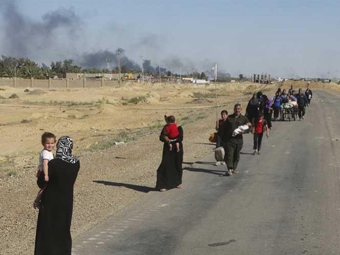 ISIS libera a casi 200 personas que secuestró en Siria
