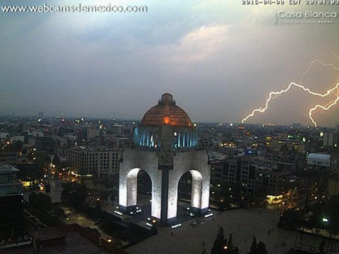Este fin de semana ya se presentaron tormentas eléctricas en la Ciudad de México