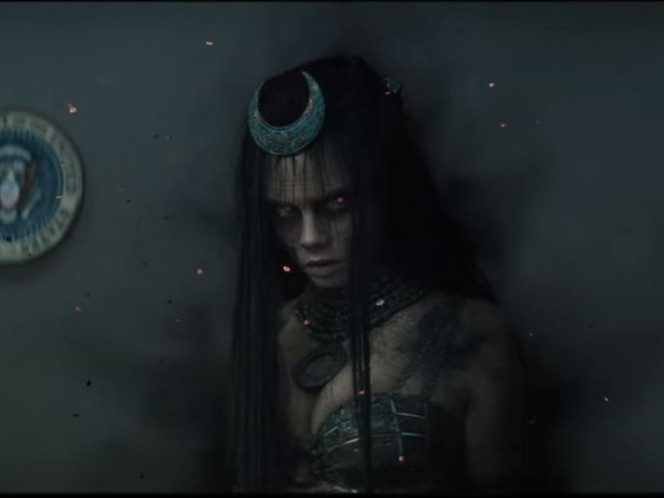 Cara Delevigne como Enchantress, quien se rumora podría ser una de las villanas de la cinta