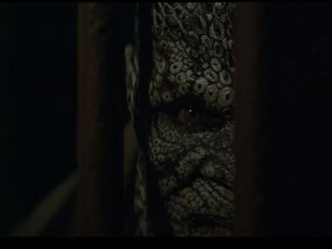 Killer Croc interpretado por Adewale Akinnuoye-Agbaje, uno de los más conocidos enemigos de Batman