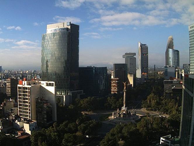 Habrá nubosidad por la tarde en la Ciudad de México, pero sin probabilidad de lluvias