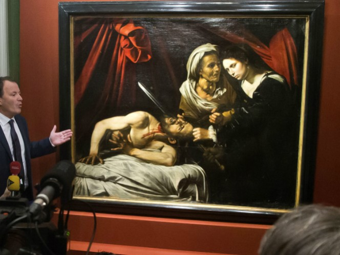 """""""Judit decapitando a Holofernes"""" de Caravaggio fue encontrada al sur de Francia, después de ser abandonada por más de 100 años"""