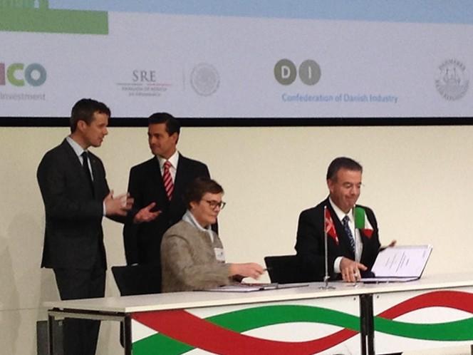 El presidente Peña Nieto se reunió también con empresarios de México y Dinamarca durante la clausura del Seminario Empresarial México-Dinamarca