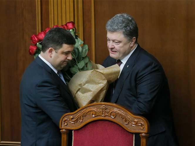 Ucrania elige a Volodymir Groysman como primer ministro