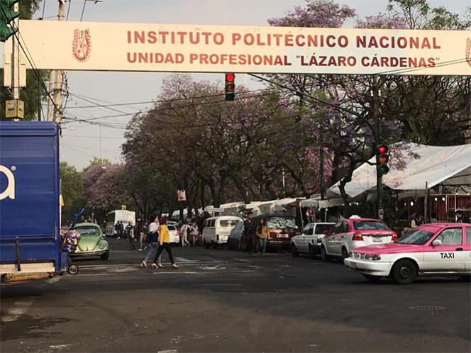 Diez de 19 vocacionales del IPN se encuentran en paro de labores. Foto: Antonio García