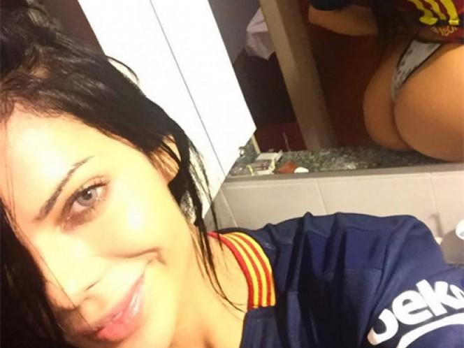Antonella Rocuzzo bloquea a provocativa fan de Messi (Foto tomada de Instagram suzycortezoficial)