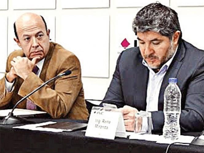 El presidente de la Comisión del Registro Federal de Electores, Enrique Andrade González, aseguró que existe una huella electrónica que permitirá dar con los responsables de la filtración de la lista nominal. Foto: Especial