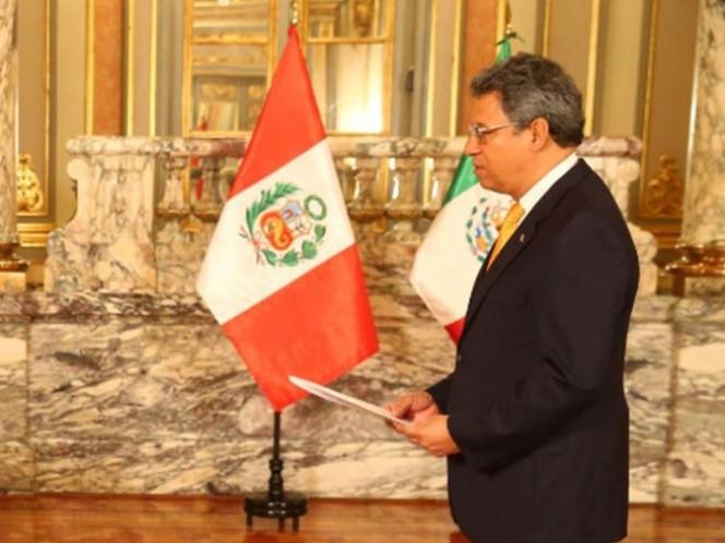 El embajador de México en Perú, Ernesto Campos (Foto: andina.com.pe)