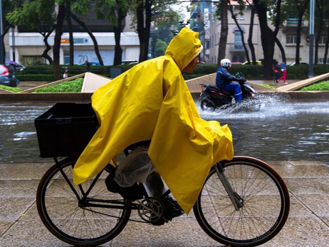 Siguen las lluvias en la mayor parte del territorio