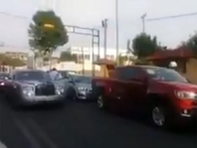 El dueño del auto Rolls Royce es investigado por la agresión contra un policia federal el pasado 9 de mayo.