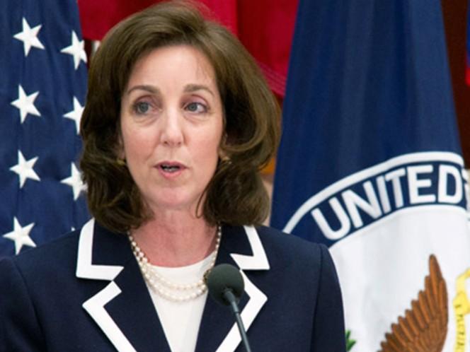 Roberta Jacobson, embajadora de Estados Unidos designada para México