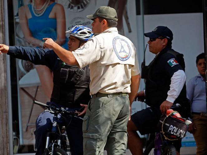 Se reportaron tres movimientos telúricos al suroeste de Cihuatlán, Jalisco y uno al suroeste de Manzanillo, Colima. Foto Cuartoscuro