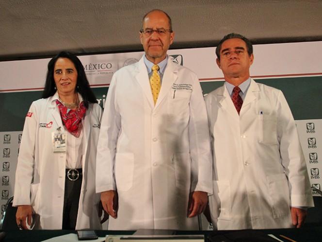 Los especialistas del IMSS presentaron los resultados de la estrategia Código Infarto, cuyo propósito es garantizar el diagnóstico y tratamiento oportuno del paciente que demanda atención de urgencias por infarto agudo de miocardio en los primeros 90 minutos. Foto: Cuartoscuro