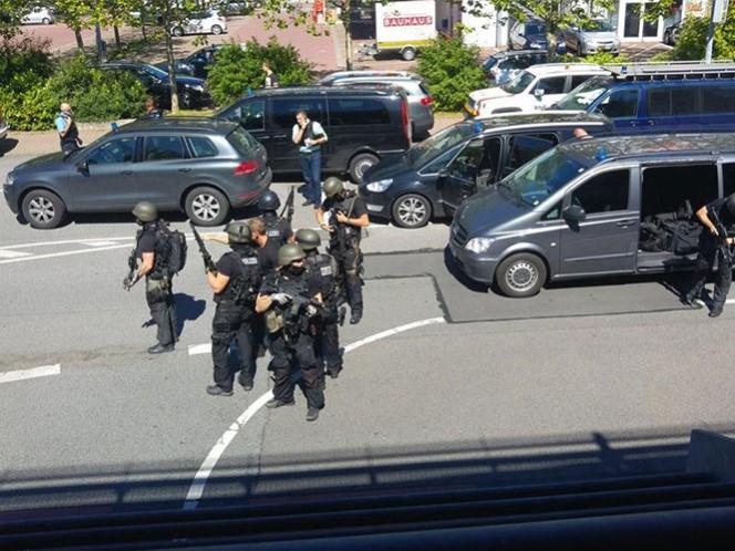 El hombre abrió fuego en un cine cerca de Fráncfort; al menos hay 20 personas heridas, los policías ya se encuentran en el lugar