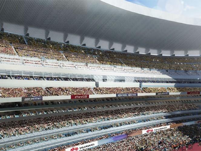 El inmueble tendrá señal WiFi abierta para todos los asistentes (Cortesía Estadio Azteca)