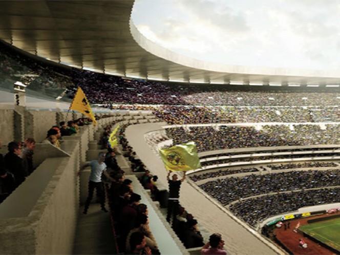 (Cortesía Estadio Azteca)