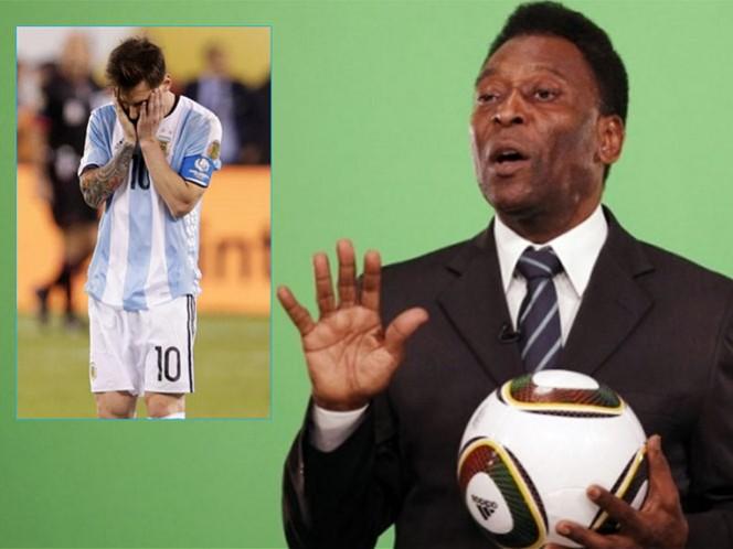 'O Rei' considera a Messi el mejor jugador del mundo en los últimos 10 años (Fotos: Reuters)