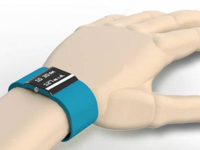 El dispositivo tiene forma de pulsera y se puede controlar a través de una aplicación móvil (app). Foto conacytprensa