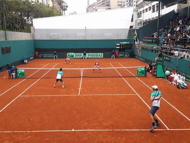 México descuenta y sueña con la remontada en Copa Davis (Foto tomada de www.fmt.org.mx)