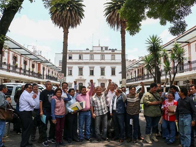 La CNTE insistió en que no participará en las mesas de trabajo para el nuevo modelo educativo; mañana nuevamente marcharán a Segob. Foto: Cuartoscuro