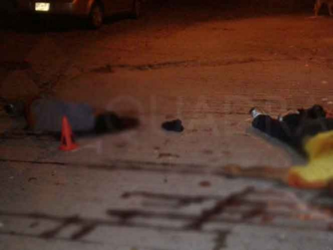 En el lugar de la agresión fueron encontrados más de 80 casquillos de fusiles AK-47 y AR-15.