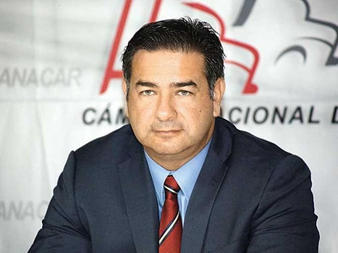 Rogelio Montemayor, presidente de la Canacar.