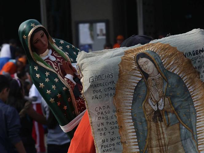 Peregrinación femenil proveniente de Morelia, Michoacán arriba a la Basílica de Guadalupe. Foto: Archivo