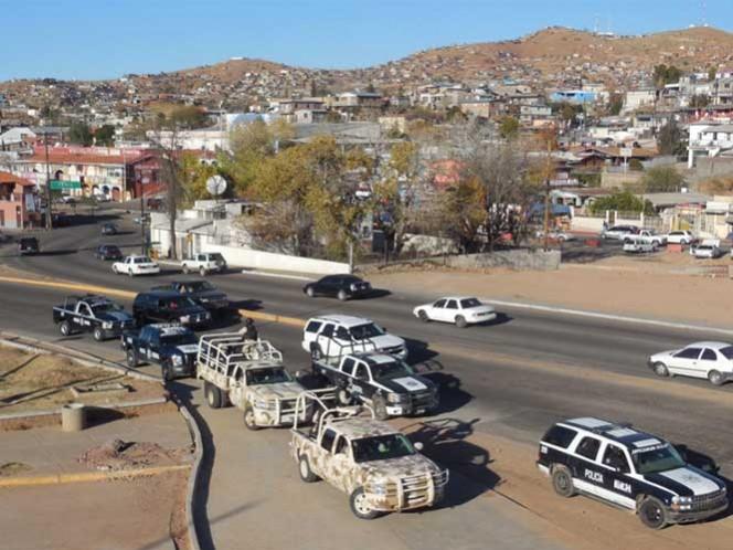 Operativo mixto vigila zonas fronterizas de Nogales en manos de la delincuencia organizada. Foto: Especial