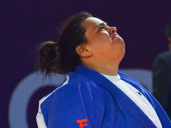 La judoca mexicana Vanessa Zambotti tiene una fugaz participación en Río 2016 (Mexsport)