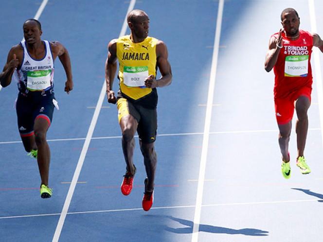 Usain Bolt clasifica fácil a la semifinal de 100 metros de los Juegos Olímpicos de Río 2016 (Reuters)