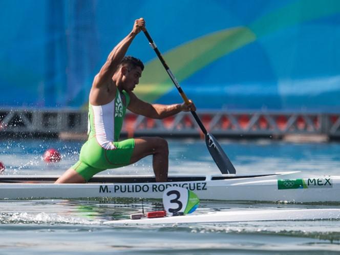 El mexicano Marcos Pulido termina en el lugar 16 general en canoa 200 metros (Mexsport)