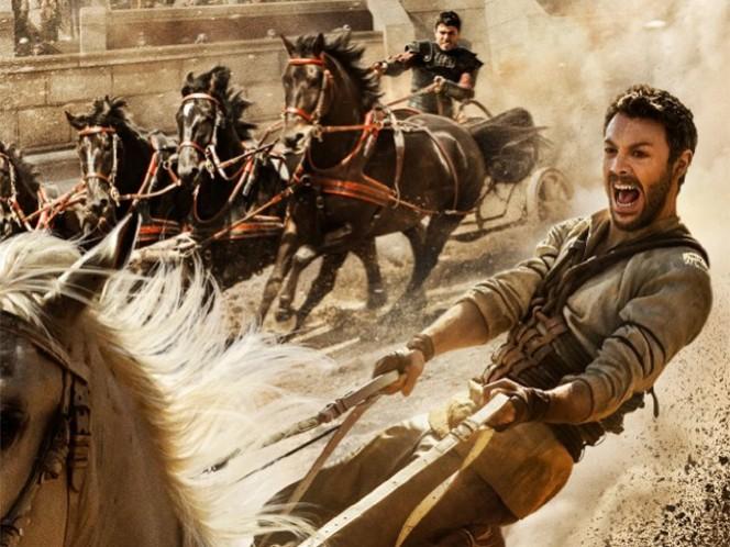 Nueva versión de 'Ben-Hur' llega a la cartelera de EU