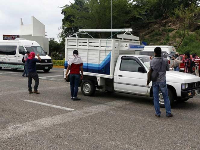 """Este sábado, la CNTE en Chiapas """"liberará"""" la caseta de cobro del municipio de Chiapa de Corzo y realizará boteos. Foto: Cuartoscuro/Archivo"""