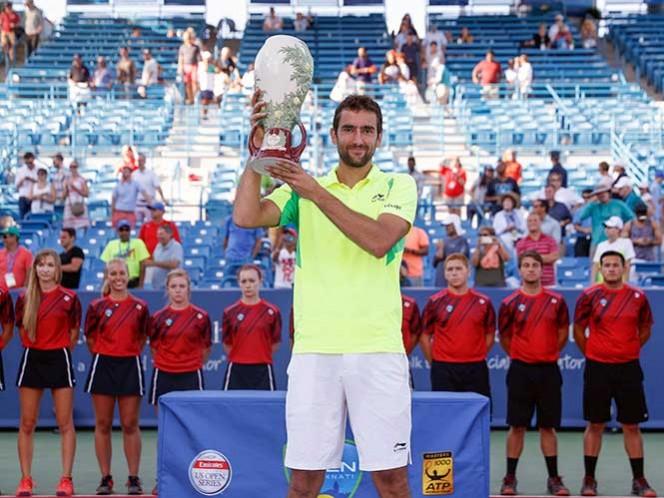 Marin Cilic es apenas el cuarto jugador en ganar un Masters 1000, fuera de Djokovic, Murray, Nadal y Federer desde 2012 (Fotos: AP)