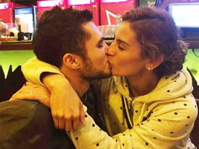 Con este beso, García y Espinosa dijeron adiós a Río 2016 (Foto: Instagram ivangarciapollo)