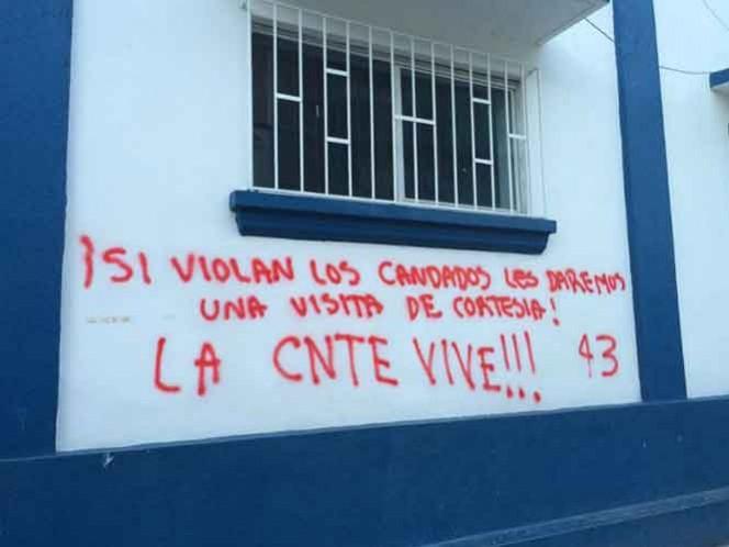 El 40 por ciento de las escuelas en Chiapas han sido afectadas por el paro indefinido de la CNTE.