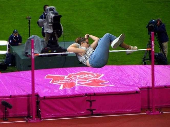 """No estaba dormida, estaba """"ejercitando sus sueños"""". Foto: Internet"""