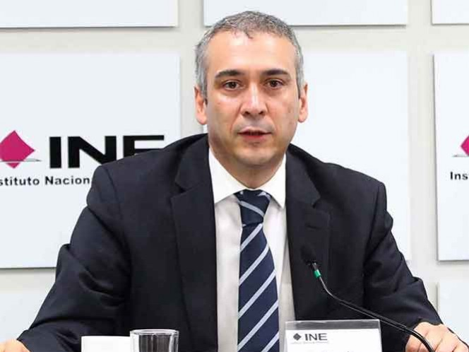 Si el alcalde de Cuernavaca cobró por postularse, el INE multará al PSD: Benito Nacif, consejero. Foto: INE
