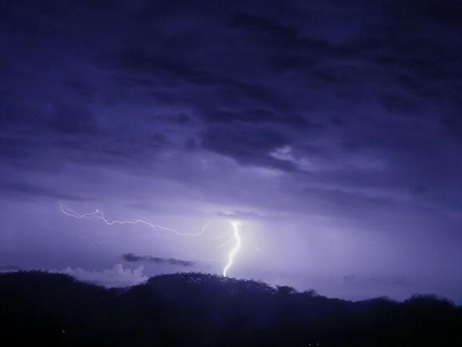 Un canal de baja presión provocará tormentas fuertes en el Estado de México, Ciudad de México, Morelos, Puebla y Guerrero