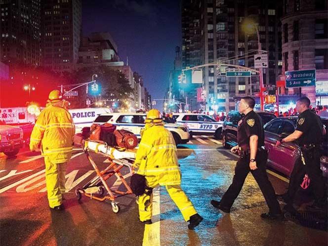 Nueva York, bajo alerta por explosión en Manhattan