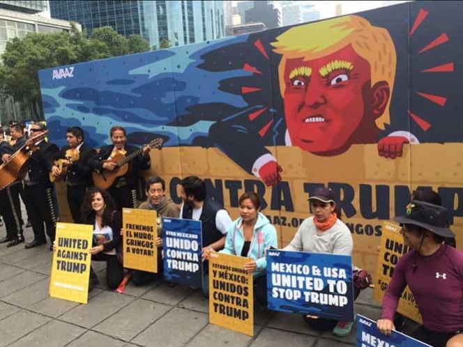 Los activistas buscan el apoyo de 8 millones de estadunidenses que habitan en otros países; en México van por el respaldo de 1 millón de ellos. Foto: @JoeHuffHannon