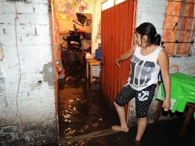 Al menos 500 viviendas en la colonia Barrio Caltongo, delegación Xochimilco.