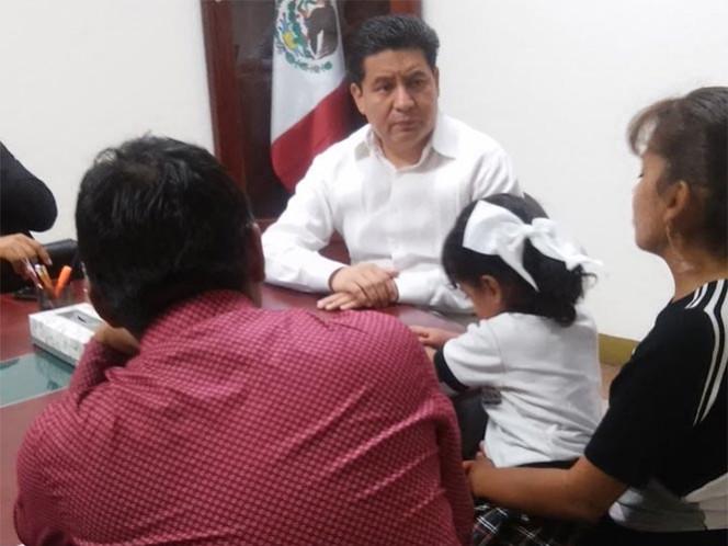 Hallan a niña raptada en Oaxaca