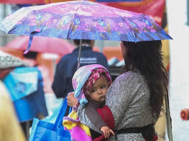 Frente frío 2 provocará lluvias torrenciales en norte del país